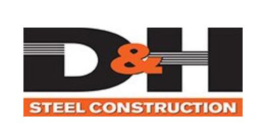 D&H Steel logo